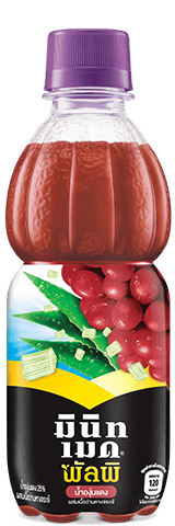 Minute Maid Pulpy Red Grape with Aloe Pulpy