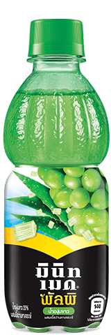 Minute Maid Pulpy White Grape with Aloe Pulpy